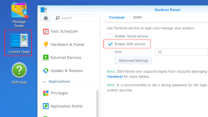 Synology Agent Connector Install